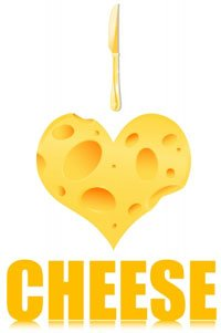 Heart Shaped Cheese